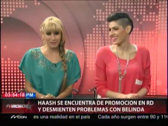 Banda Ha-Ash Desmiente Que Tenga Problemas Con Belinda #Video