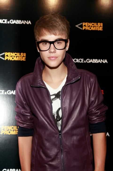Justin Bieber attends the Dolce & Gabbana Boutique on September 8, 2011 in New York City.