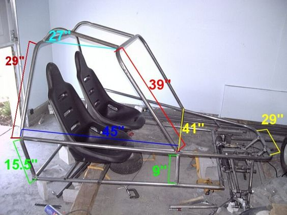 Learn how to build you own go-kart. Here, the whole process is broken down into four parts, each with a step-by-step guide.