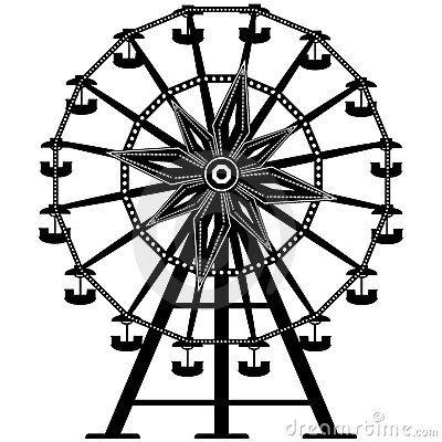 ferris wheel drawings - Google Search | CARNIVAL ART ...