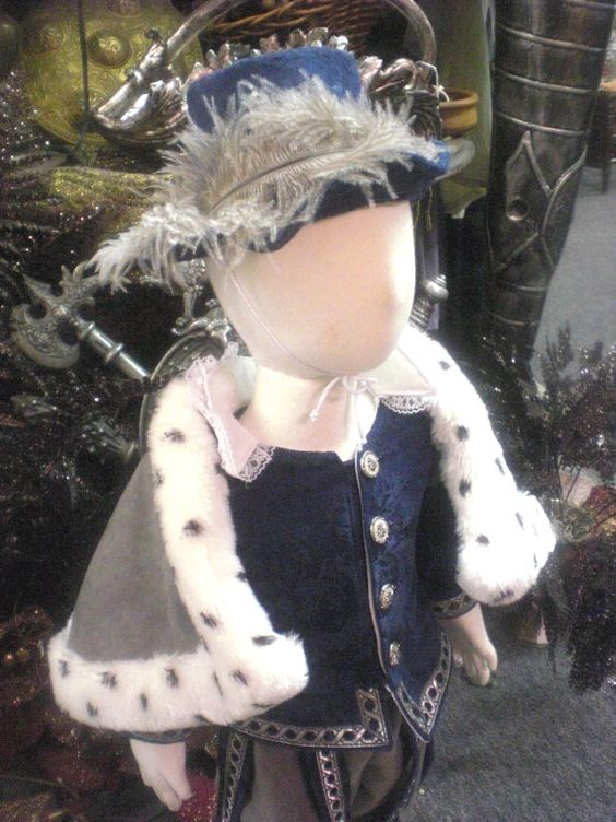 Renaissance Toddler King Costume - 9-12 month. $56.00, via Etsy.