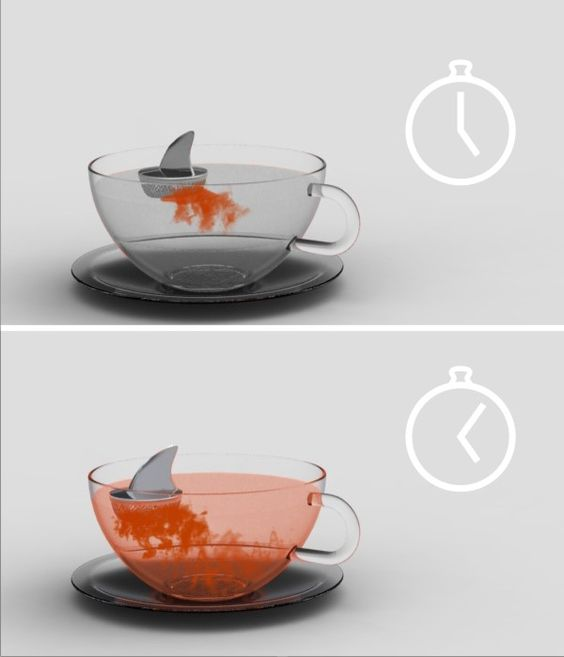 Sharky Tea Infuser.@Jacquie Steffes-Oyster bwhahaha!