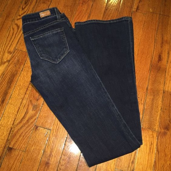 Flared Paige jeans These have been sitting in my closet forever! Never been worn flared Paige jeans. Runs a bit small. Paige Jeans Jeans