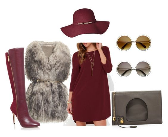 """""""Wine Fine www.blevaas.bigcartel.com"""" by blevaasllc on Polyvore featuring PINGHE, MICHAEL Michael Kors and Tom Ford"""