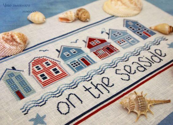Что льняного нового: Осенью о лете и море… (продолжение)