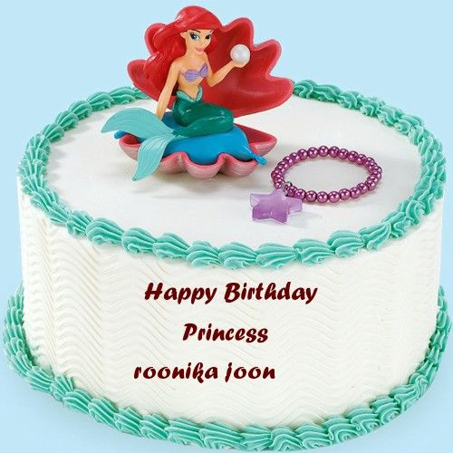 Nice Princess Birthday Wishes Name Cakes Pictures With Images