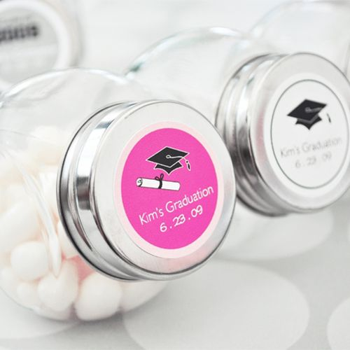 Personalized Graduation Candy Jar