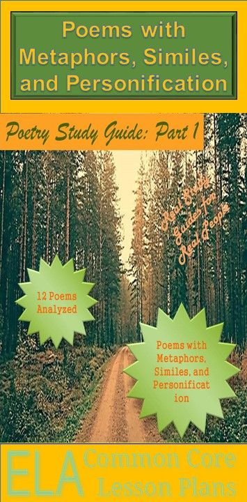 an analysis of the use of metaphors in poems The new version of the purdue owl is available at https:  why use metaphors  they needed a new language the result was windows in your poems,.