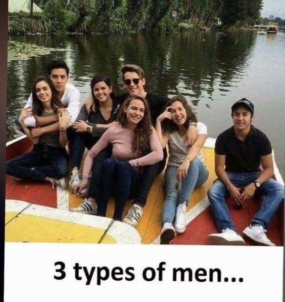 3 types of men