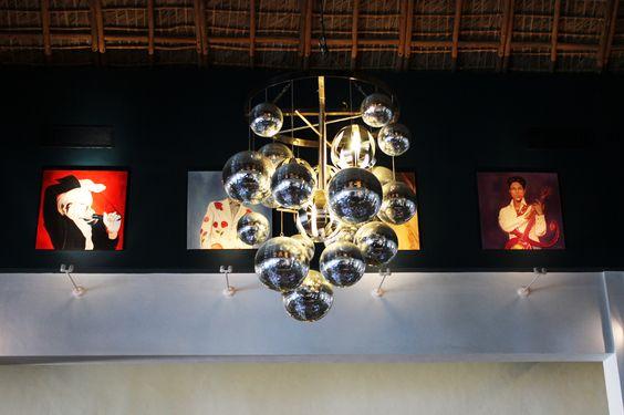 Lámpara / Lamp at boulevard Hard Rock Hotel & Casino Punta Cana