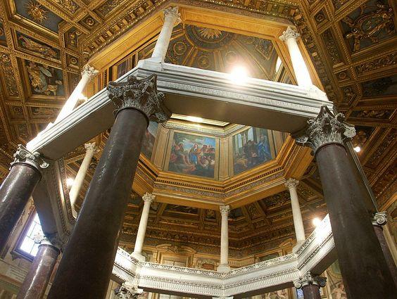 Rom, San Giovanni in Lateran, Innenraum des Baptisteriums - Lateran – Wikipedia – Dnalor