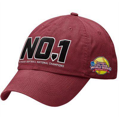 Nike Alabama Crimson Tide 2012 NCAA Women's Softball College World Series Champions Locker Room Adjustable Hat - Crimson $21.95