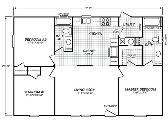 Fleetwood Homes * Sandalwood LTD 28403S