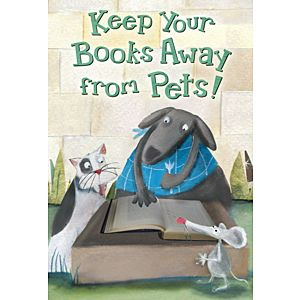 Always keep library books… In one safe place at home and at school to help you…