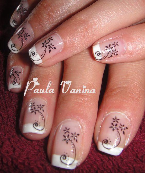Nail Art - Konad - french
