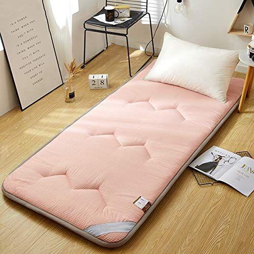 Lkkbed Memory Foam Mattress Topper Fiber Filled Bed Topper Single