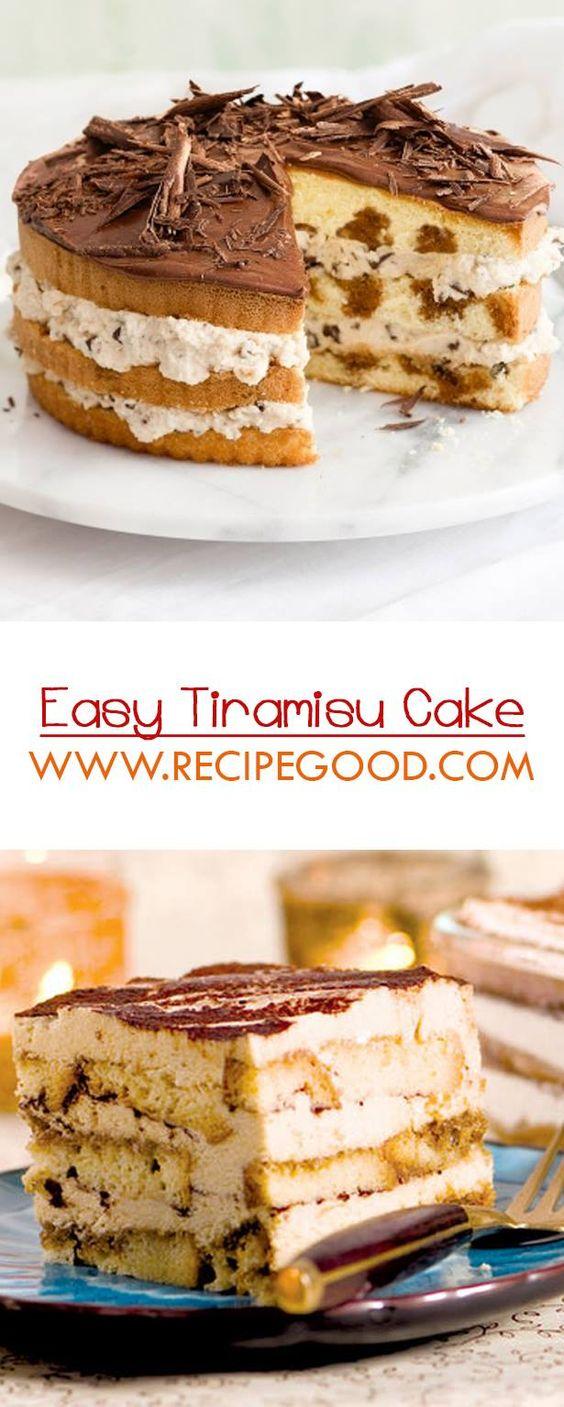 Easy Tiramisu Cake Recipe - Video