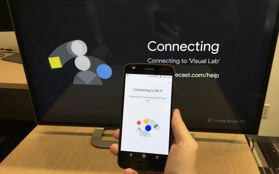 Google Chromecast có giao diện đơn giản, dễ hiểu