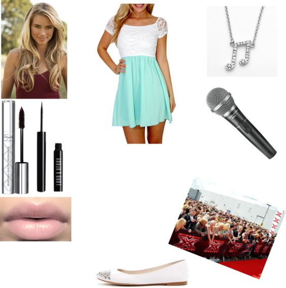 """X factor audition"" by maevadirectioner ❤ liked on Polyvore"