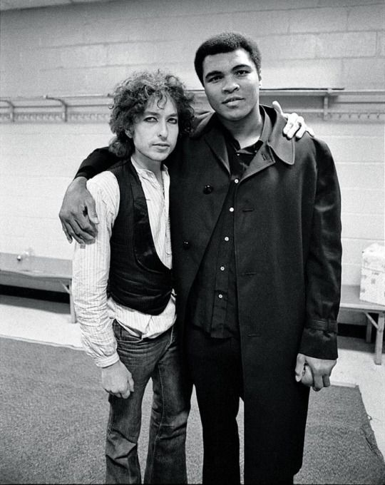 Bob Dylan & Muhammad Ali, Madison Square Garden, New York, 1975