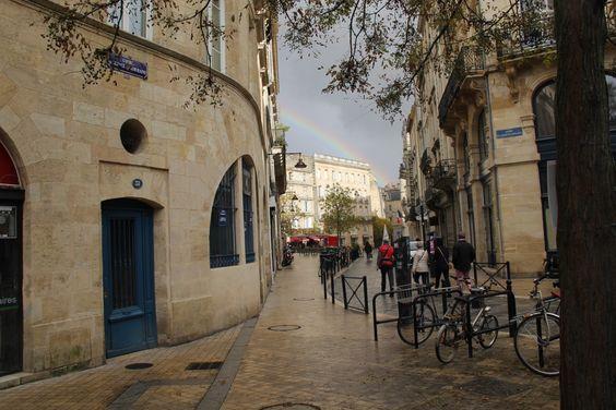 Радуга на улице Бордо