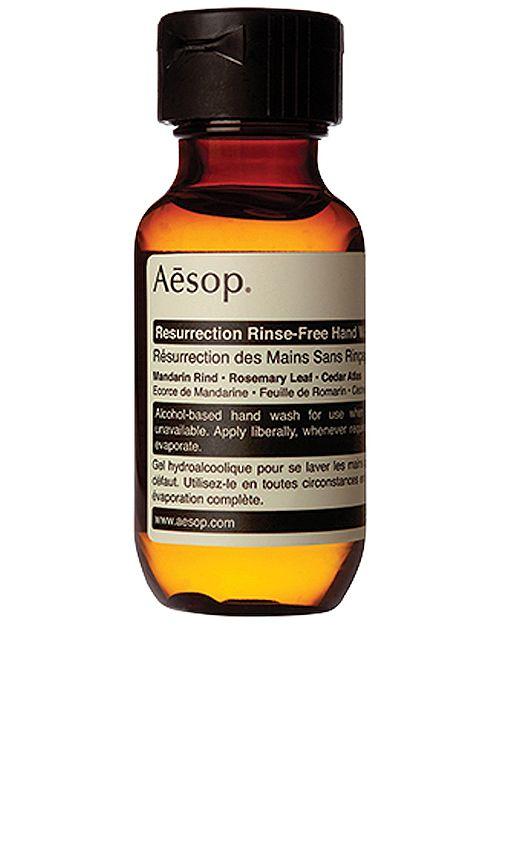 Aesop Resurrection Rinse Free Hand Wash In Revolve Orange Oil Hand Washing Body Care