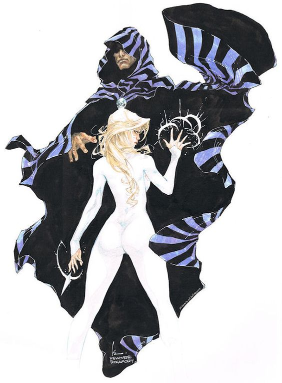 Cloak and Dagger by Kenneth Rocafort from the collection of Jeff Morris