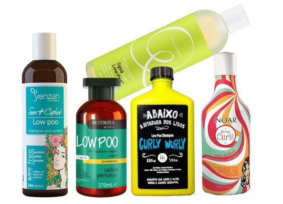 Cachos saudáveis: produtos Low e No Poo para quem quer testar a técnica