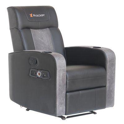X Rocker Premier Recliner Dual Audio Pc Racing Game Chair