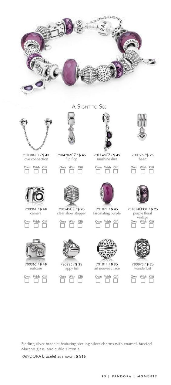 Pandora Sterling Silver 925 ALE Bracelet with European Beads and Charms Winter…
