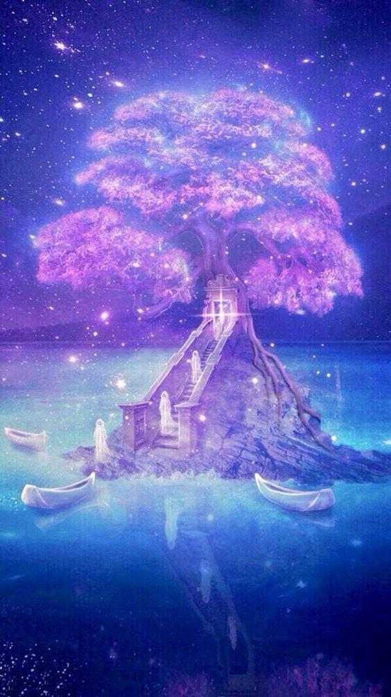 Beauty Fantasy Art Landscapes Anime Scenery Anime Scenery Wallpaper Beautiful anime space wallpaper
