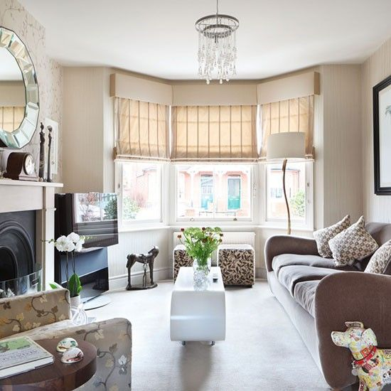 Be inspired by this stunning victorian semi in berkshire for Neutral front room ideas