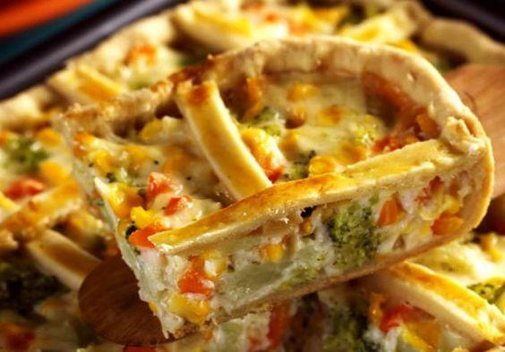 Com parmesão, cenoura e milho, o quadriculado de legumes vai conquistar até a criançadaVeja mais receitas de