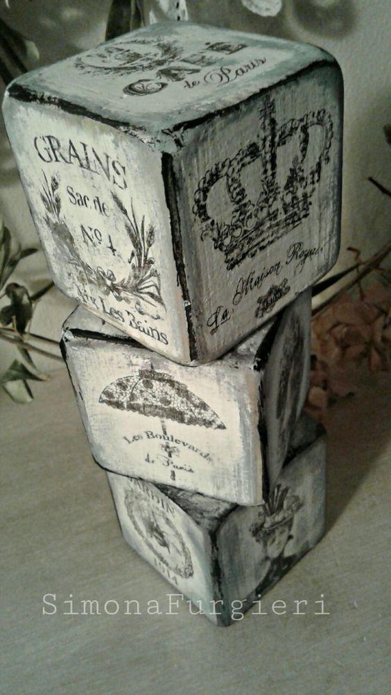 Cubi in legno