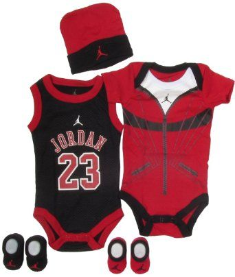 Amazon Com Jordan Baby 23 Jersey And Warmup Set For Baby