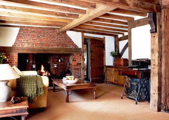 16th Century Timber Framed House Period Living Cosy