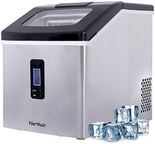 Best Seller Northair Ice Maker Countertop 40lbs Day 500 Cups