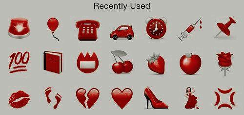 Red Lip Bite Sticker By Julietthomas17 Tumblr Stickers
