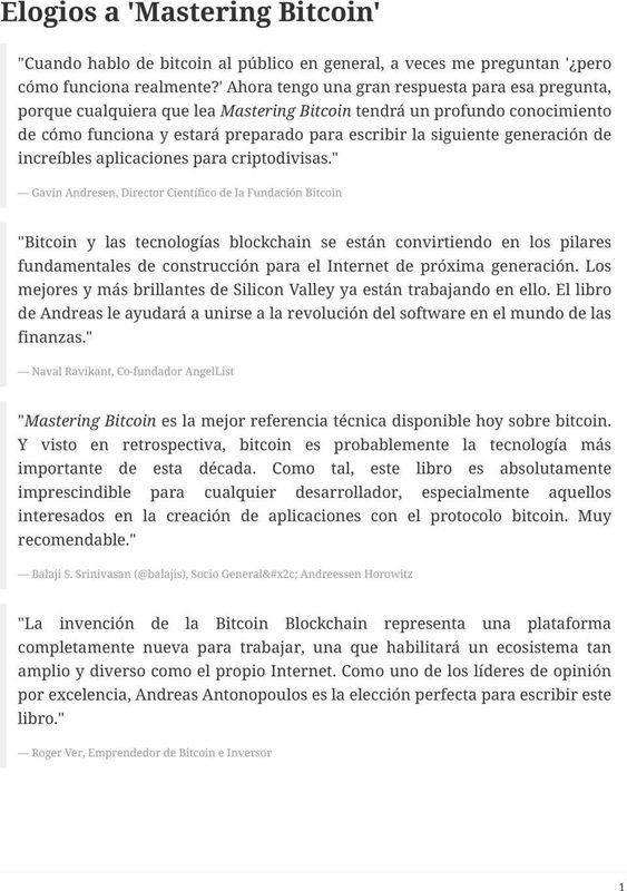 Plataforma de revolución bitcoin