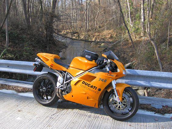 ORANGE Ducati Superbike
