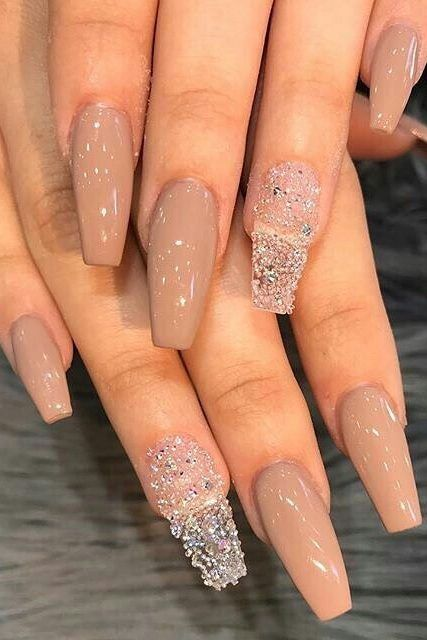 58 Stylish Acrylic Nail Design Ideas Perfect For 2019 Page 30 Of 58 Best Acrylic Nails Cute Nails Prom Nails