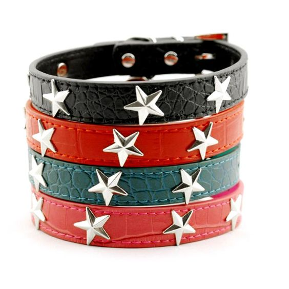 Tag a friend who would like this Super Star Collar     FREE worldwide shipping    http://www.pawsify.com/product/super-star-collar/