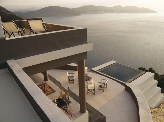 Villa Nel Cielo @ Kefalonia, Greece