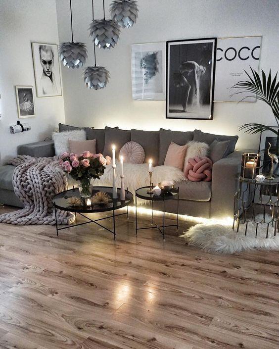 51 Ultimate Romantic Living Room Decor Ideas Roundecor Romantic Living Room Farm House Living Room Trendy Living Rooms