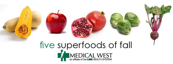 Superfoods for Fall | UAB Medical West