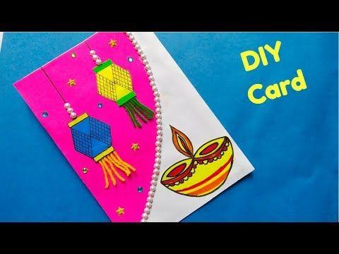 Diy Diwali Greeting Card Handmade Easy Diwali Pop Up Card Making Idea Youtu In 2020 Diwali Greeting Cards Handmade Diwali Greeting Cards Diwali Greeting Card Making