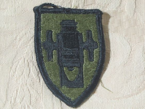 MILITARY SHOULDER PATCH United States Army Field Artillery School Ft. Sill Oka.  Junk_637  http://ajunkeeshoppe.blogspot.com/