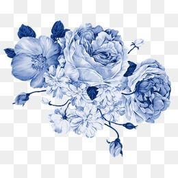 Milhoes De Imagens Png Fundos E Vetores Para Download Gratuito Pngtree Blue Flower Wallpaper Transparent Flowers Blue Flower Png