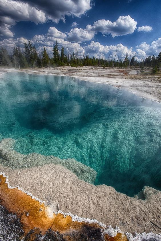 West Thumb Geyser Basin - Yellowstone National Park - Montana - USA