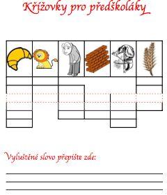 Křížovky pro děti 3